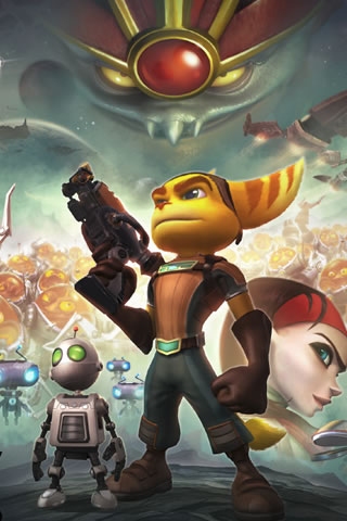 Ratchet and Clank Future iPhone Wallpaper #2