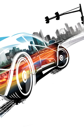 Burnout Paradise iPhone and iPod Touch Wallpaper #1