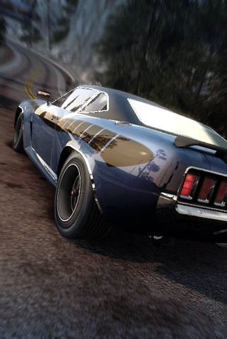 Burnout Paradise iPhone and iPod Touch Wallpaper #2