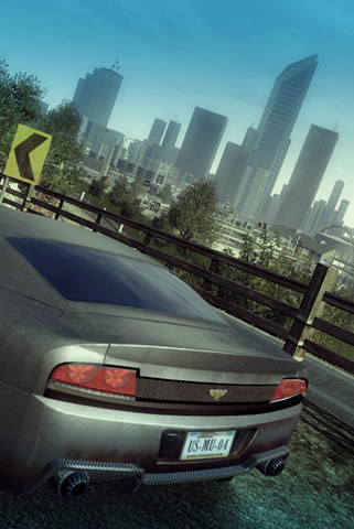 Burnout Paradise iPhone and iPod Touch Wallpaper #6