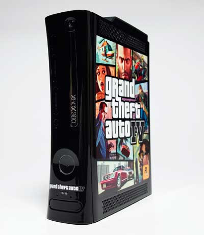 Limited Edition Grand Theft Auto IV Xbox 360