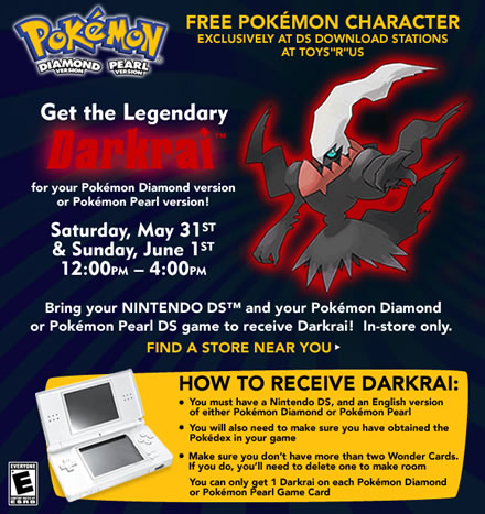 Free Pokemon Character at Toys R Us