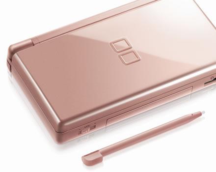 Metallic Rose Nintendo DS