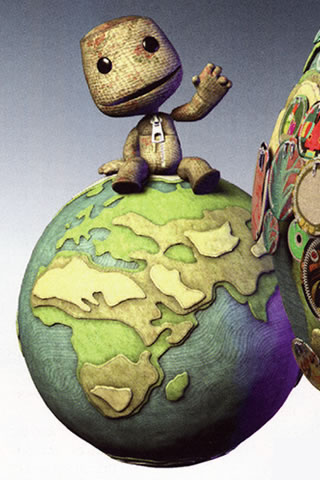 LittleBigPlanet iPhone and iPod Touch Wallpaper #1