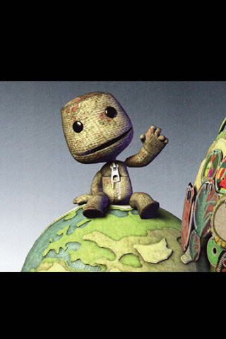 LittleBigPlanet iPhone and iPod Touch Wallpaper #2