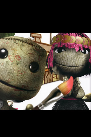 LittleBigPlanet iPhone and iPod Touch Wallpaper #3