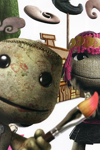 LittleBigPlanet iPhone and iPod Touch Wallpaper #4