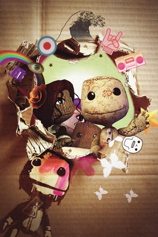 LittleBigPlanet iPhone and iPod Touch Wallpaper #5