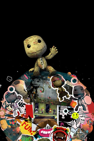 LittleBigPlanet iPhone and iPod Touch Wallpaper #7