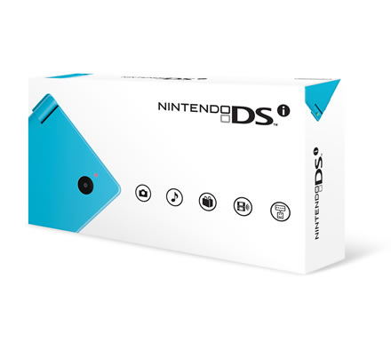 Nintendo DSi - Blue Box