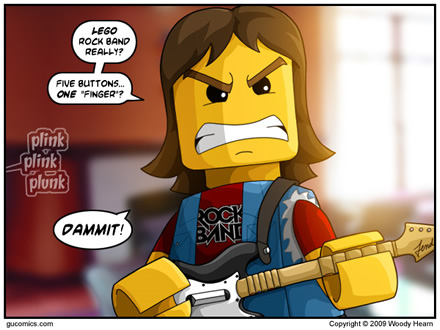 LEGO Rock Band Comic