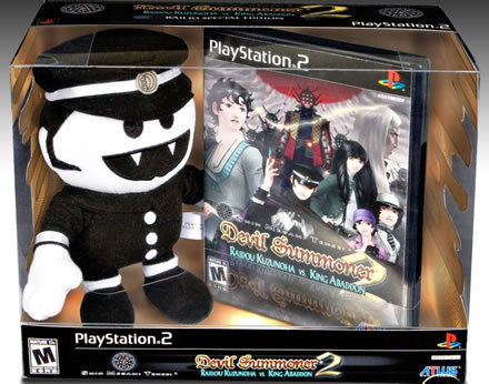 Shin Megami Tensei: Devil Summoner 2: Raidou Kuzunoha vs. King Abaddon for PlayStation 2 Special Deluxe Package