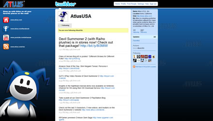 AtlusUSA Twitter Background