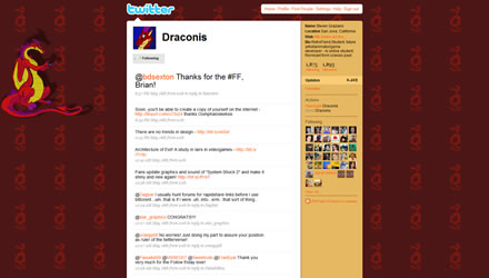 Draconis Twitter Background