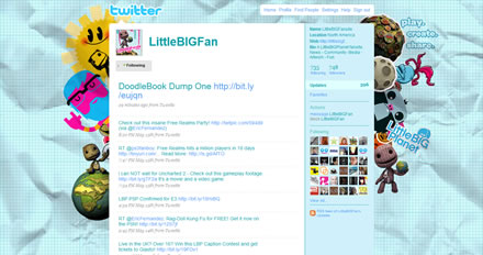 LittleBIGFansite Twitter Background