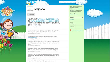 Majesco Twitter Background