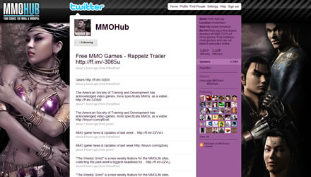 MMOHub Twitter Background