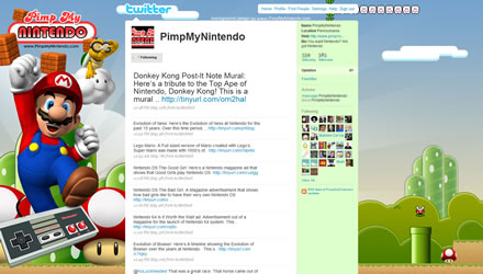 PimpMyNintendo Twitter Background