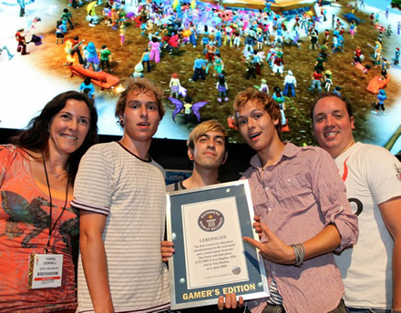 Sony Online Entertainment Sets Guinness World Record at E3 2009