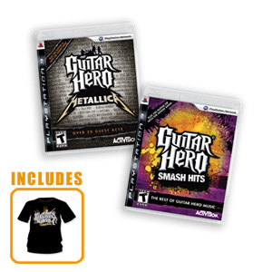 Guitar Hero Smash Hits & Metallica 2-Pack