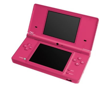 nintendo dsi now available in pink and white get a free game or accessory at. Black Bedroom Furniture Sets. Home Design Ideas