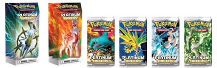 Pokémon Trading Card Game (TCG): Platinum-Arceus Expansion