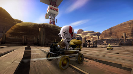 ModNation Racers - Kratos Racing