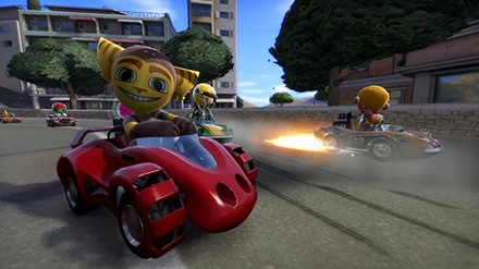 ModNation Racers - Ratchet Racing