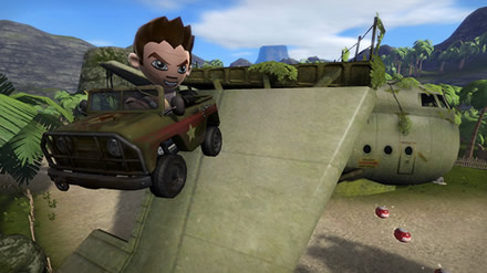 ModNation Racers - Nathan Drake Racing