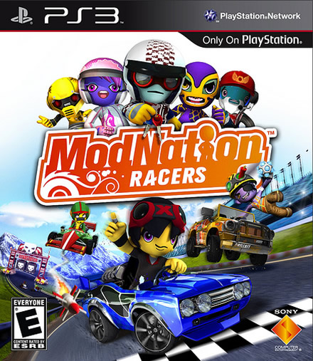 ModNation Racers - PlayStation 3 Box Art