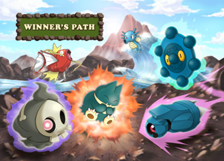 Winner's Path Route for the Pokewalker