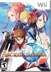 Arc Rise Fantasia Box Art