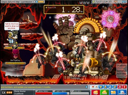 Dual Blade- ChaosZakum