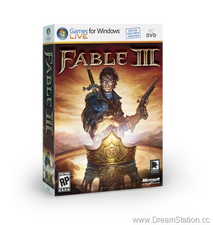 FableIII PC 3D BoxShot