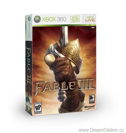 FableIII Xbox LCE 3D BoxShot