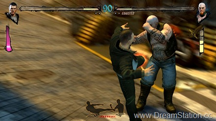 Fighters Uncaged _Screenshot 4_ Rider