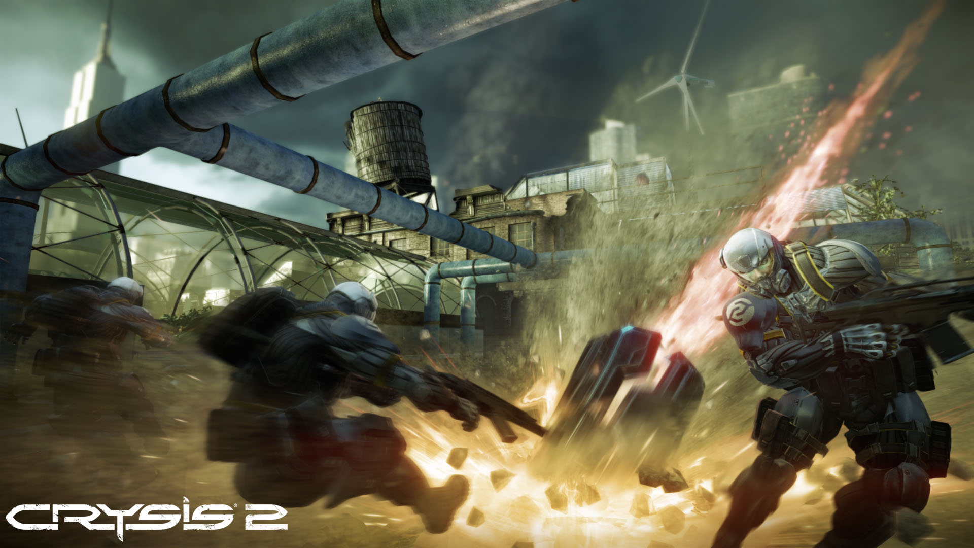 Crysis 2 MP screen