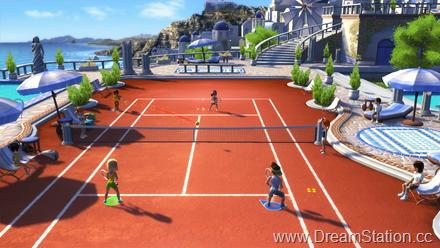 Tennis - Santorin