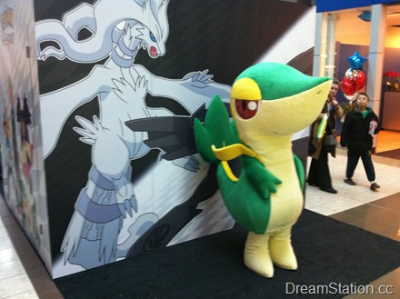 Activity Zone - Character Meet and Greet - Snivy